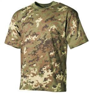 MFH T-shirt Vegetato Woodland