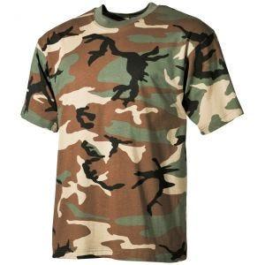 MFH T-shirt Woodland