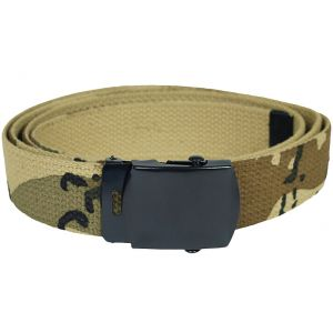Mil-Tec Webbing Belt 6-Colour Desert