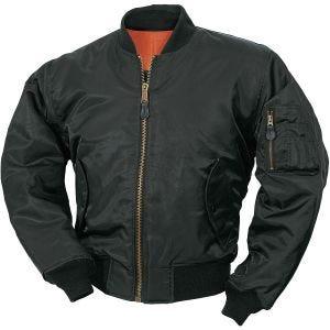 Surplus MA-1 Flight Jacket Black