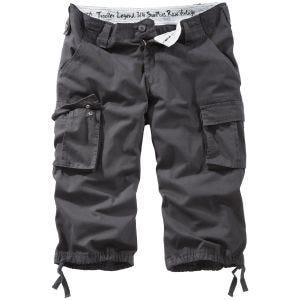 Surplus Trooper Legend 3/4 Shorts Black Washed