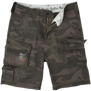 Surplus Trooper Shorts Black Camo