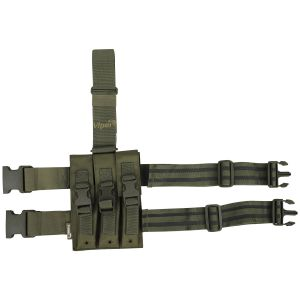 Viper MP5 Drop Leg Mag Pouch Olive Green