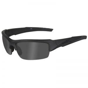Wiley X WX Valor Glasses - Black Ops Smoke Grey Lens / Matte Black Frame