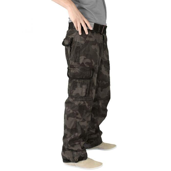 Surplus Premium Vintage Trousers Black Camo