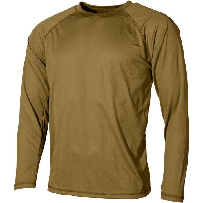 MFH US Undershirt Level I Gen III Coyote Tan