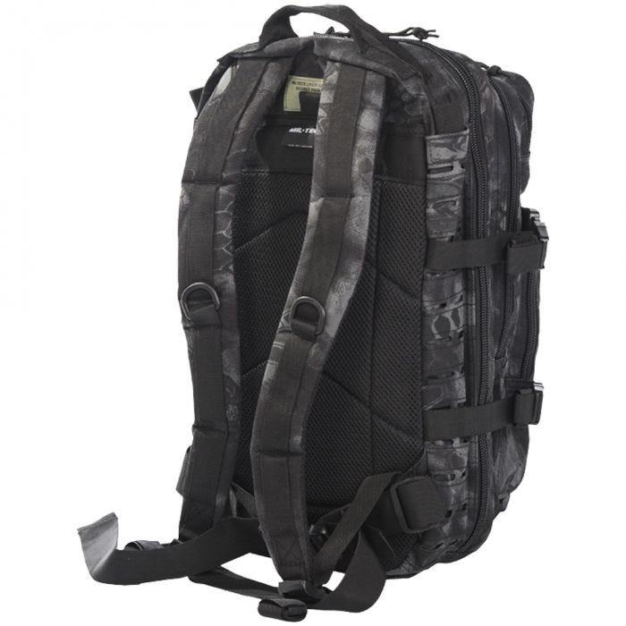 Mil-Tec US Assault Pack Small Laser Cut Mandra Night