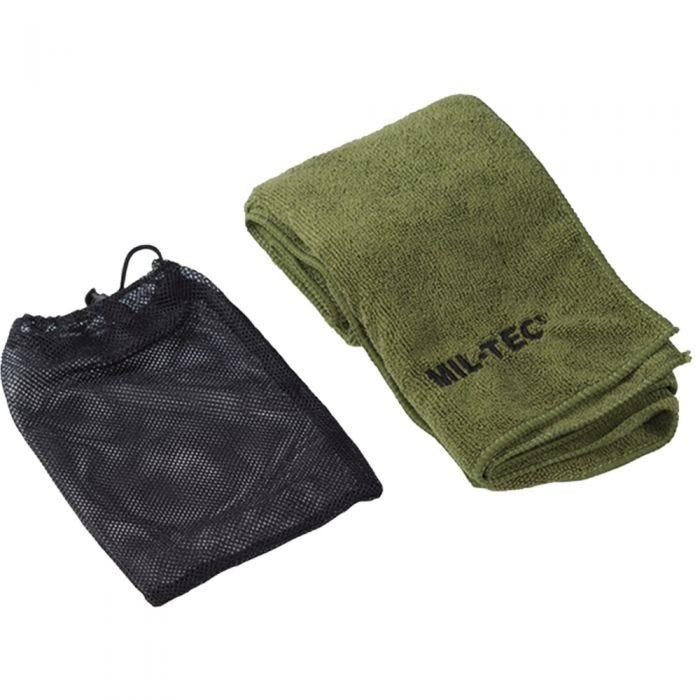 Mil-Tec Microfiber Towel 80cm x 40cm Olive
