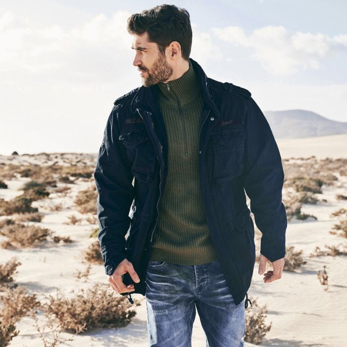 Brandit M-65 Giant Jacket Navy
