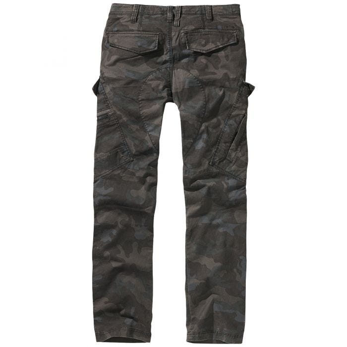 Brandit Adven Slim Fit Trousers Dark Camo
