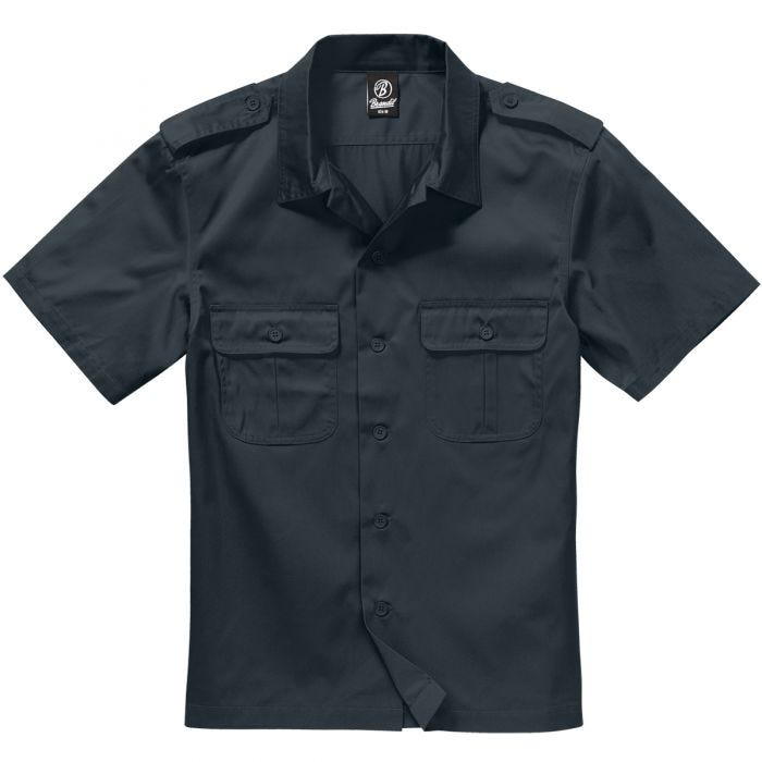 Brandit US Shirt Short Sleeve Black