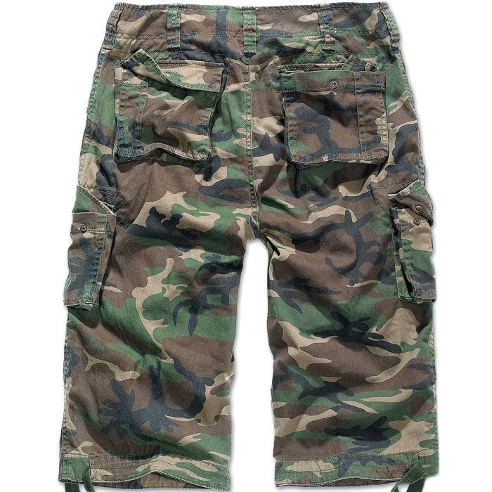 Brandit Urban Legend 3/4 Shorts Woodland