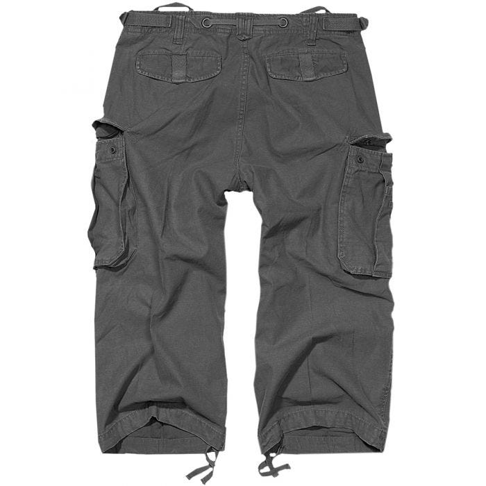 Brandit Industry Vintage 3/4 Shorts Anthracite