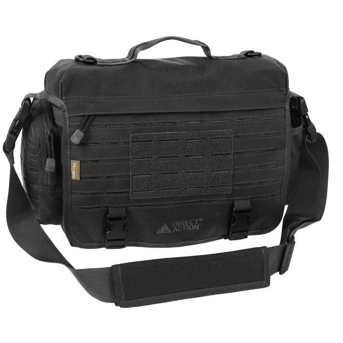 Direct Action Messenger Bag Black