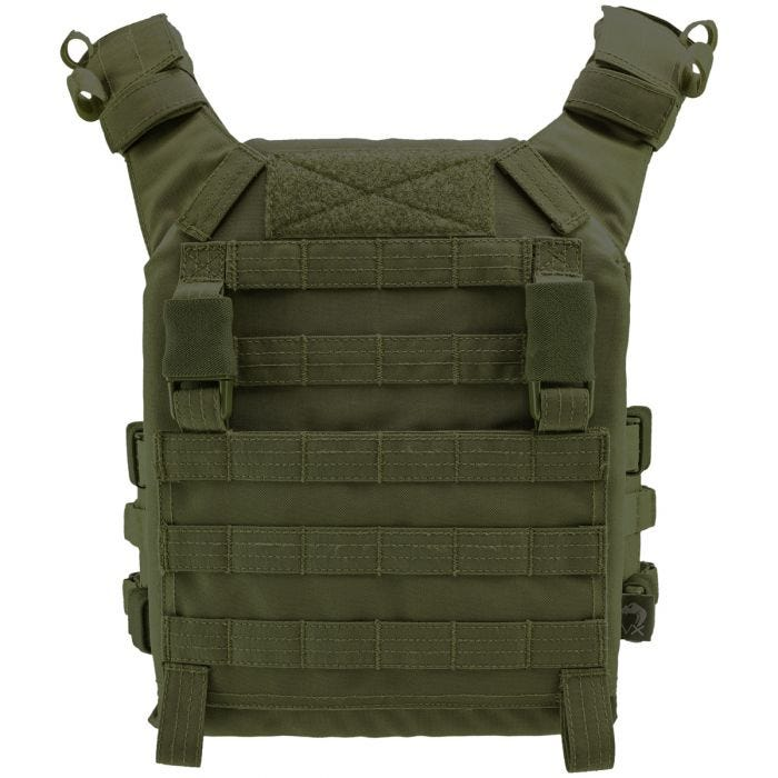 Viper VX Buckle Up Plate Carrier Green