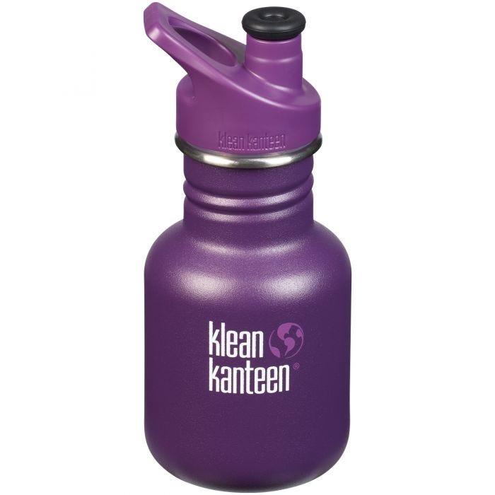 Klean Kanteen Kid Sport 355ml Bottle Sport Cap Grape Jelly