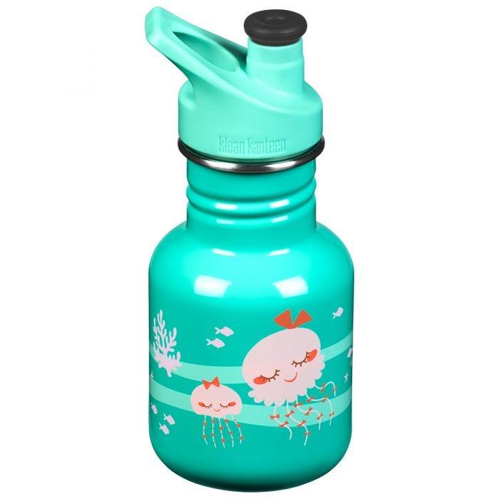 Klean Kanteen Kid Sport 355ml Bottle Sport Cap Jellyfish