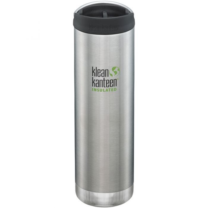 Klean Kanteen TKWide 591ml Insulated Bottle Cafe Cap Brushed Stainless