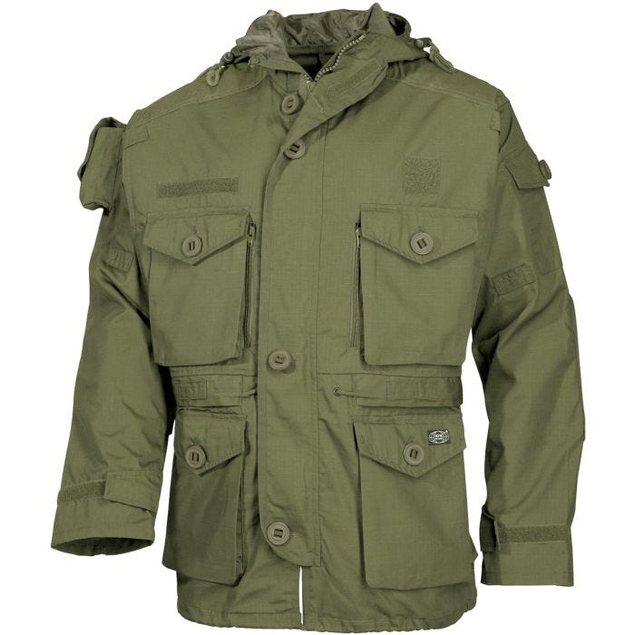 MFH Commando Jacket Smock OD Green
