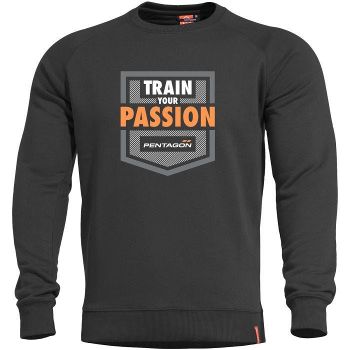 Pentagon Hawk Sweater Train your Passion Black