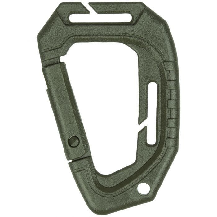Mil-Tec Tactical Carabiner MOLLE Set of 2 Olive