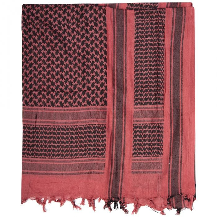 Mil-Tec Shemagh Scarf Red / Black