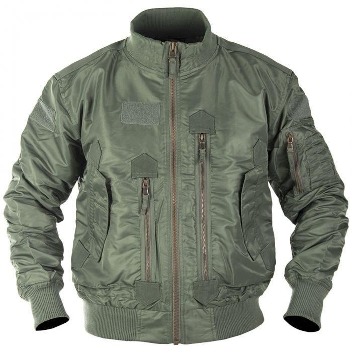 Mil-Tec US Tactical Flight Jacket Olive