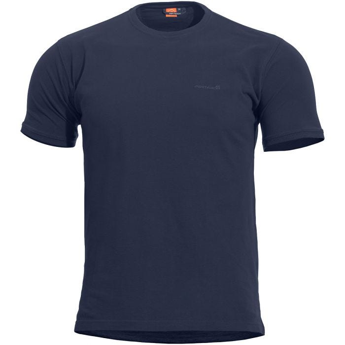 Pentagon Levantes Crew Neck Shirt Navy Blue