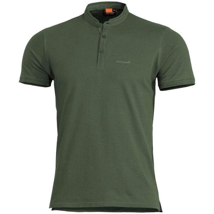Pentagon Levantes Henley Shirt Camo Green