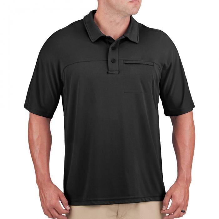 Propper Men's HLX Polo Short Sleeve Black