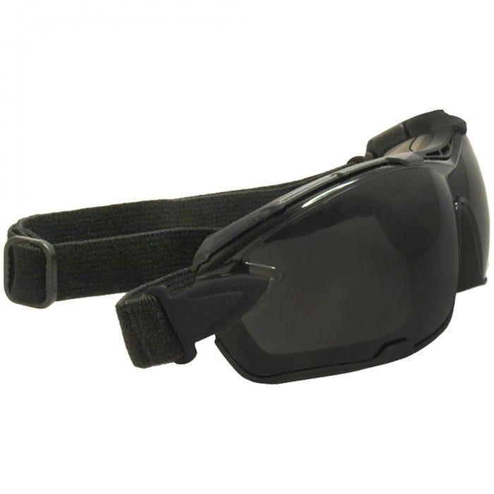 Swiss Eye Detection Sunglasses - Smoke + Clear Lenses / Rubber Black Frame