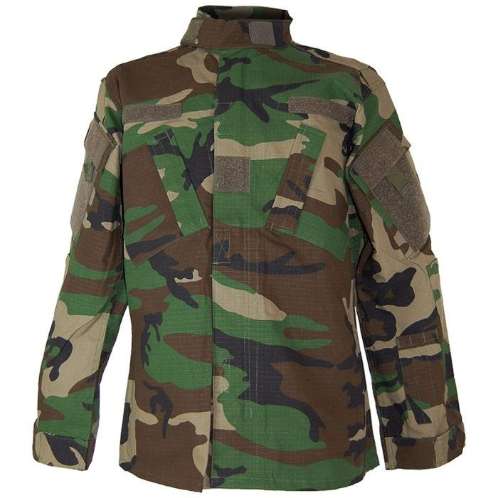 Teesar ACU Combat Shirt Woodland