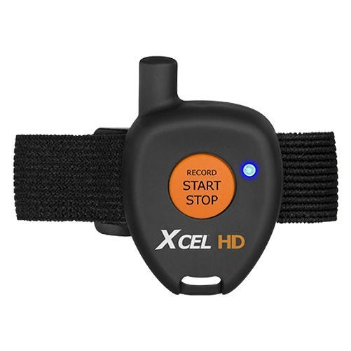 Xcel Remote Control with Velcro Strap Black