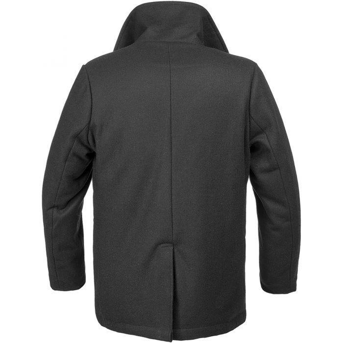 Brandit Pea Coat Black