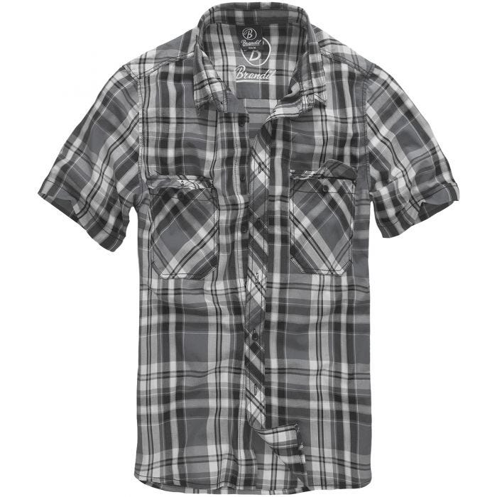 Brandit Roadstar Shirt Black / Anthracite