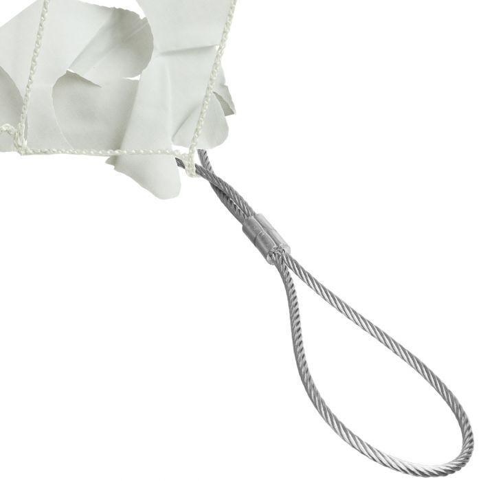 CamoSystems Shade Sail Net Broadleaf 4x6 White