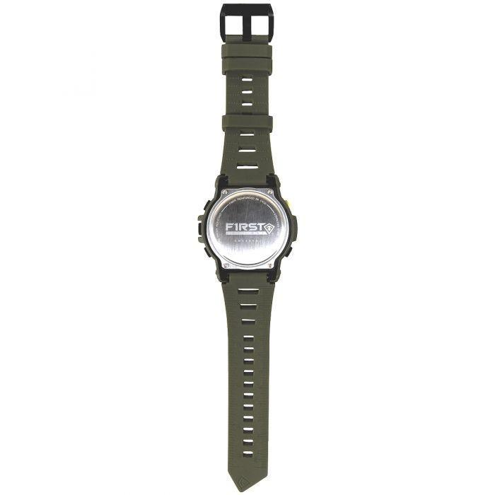 First Tactical Canyon Digital Compass Watch OD Green