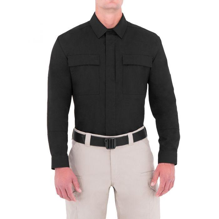 First Tactical Men's Specialist Long Sleeve BDU Shirt Black