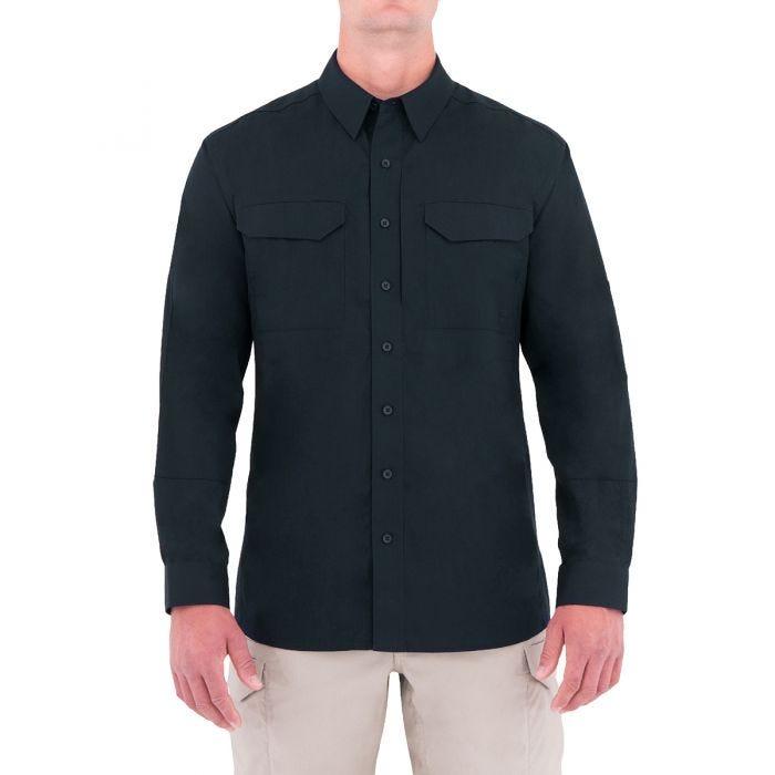 First Tactical Men's Specialist Long Sleeve Tactical Shirt Midnight Navy