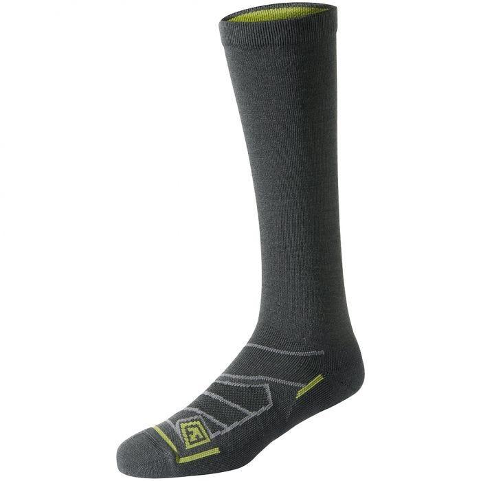 "First Tactical All Season Merino Wool 9"" Socks Charcoal"