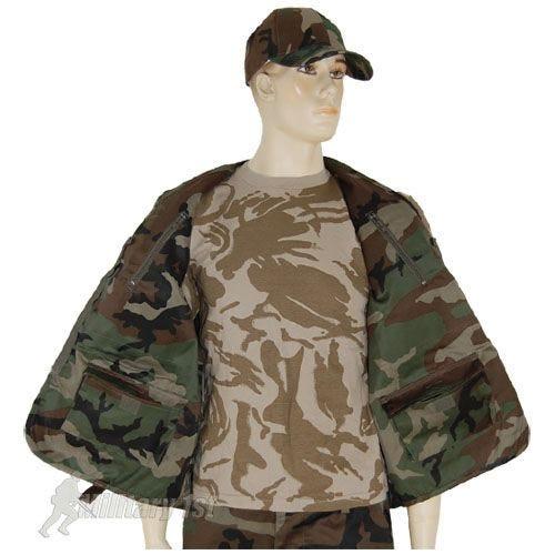 Mil-Tec Fishing Vest Woodland