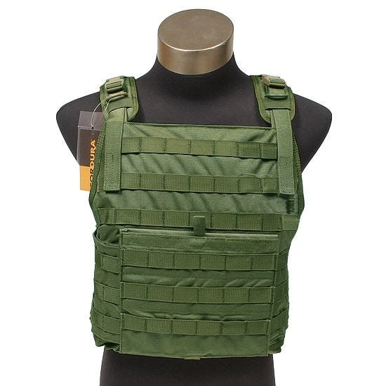 Flyye MOLLE Style PC Plate Carrier Olive Drab