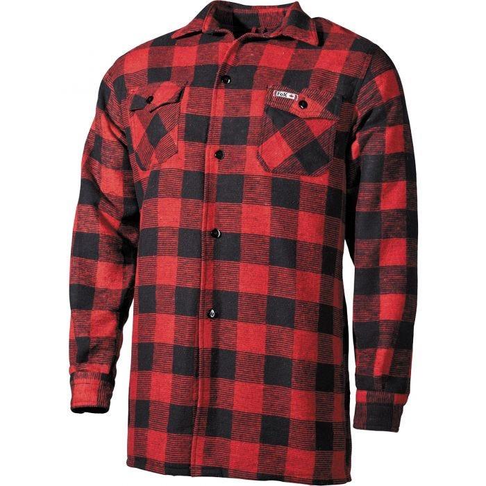 Fox Outdoor Lumberjack Shirt Red / Black Checkered