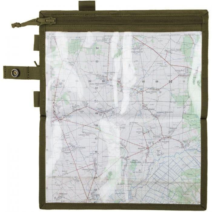 Helikon Map Case Olive Green