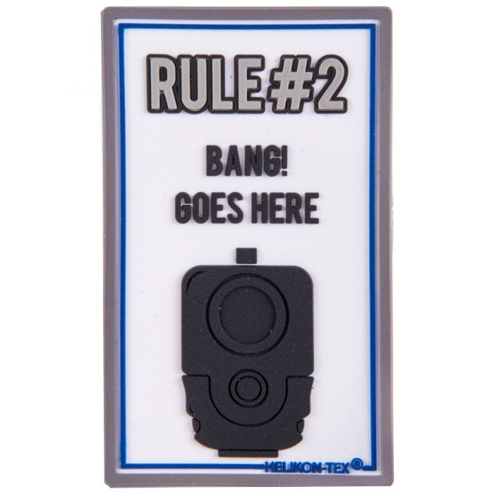 Helikon Rule#2 Patch White