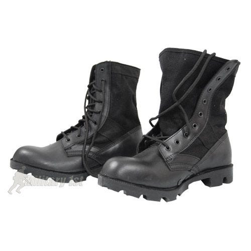 US Jungle Combat Boots Black