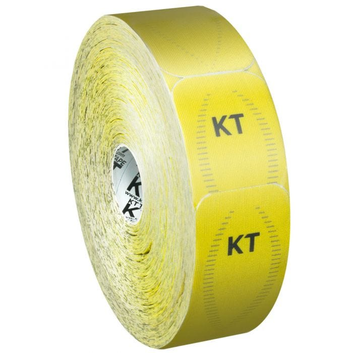 KT Tape Jumbo Synthetic Pro Precut Solar Yellow