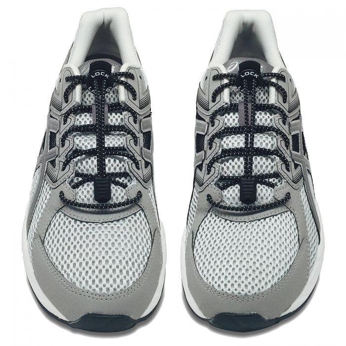 Lock Laces Elastic No Tie Shoelaces Black