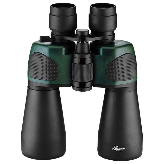 Luger ZV Series 10-30x50 Binocular Army Hiking Hunting Trekking with Carry Pouch