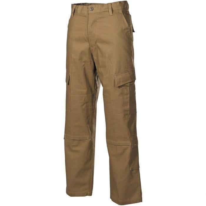 MFH ACU Combat Trousers Ripstop Coyote Tan